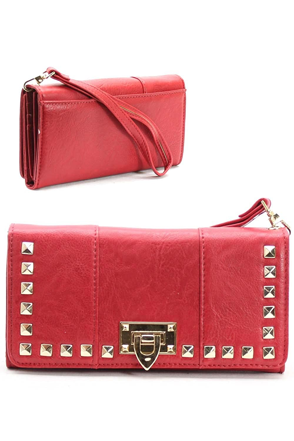 Downtown Apparel Red Wallet