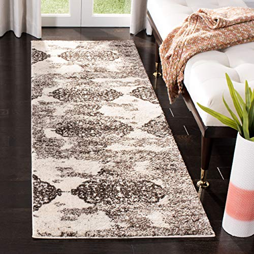 Safavieh Retro Collection RET2866-1379 Abstract Beige and Light Grey Runner (2'3