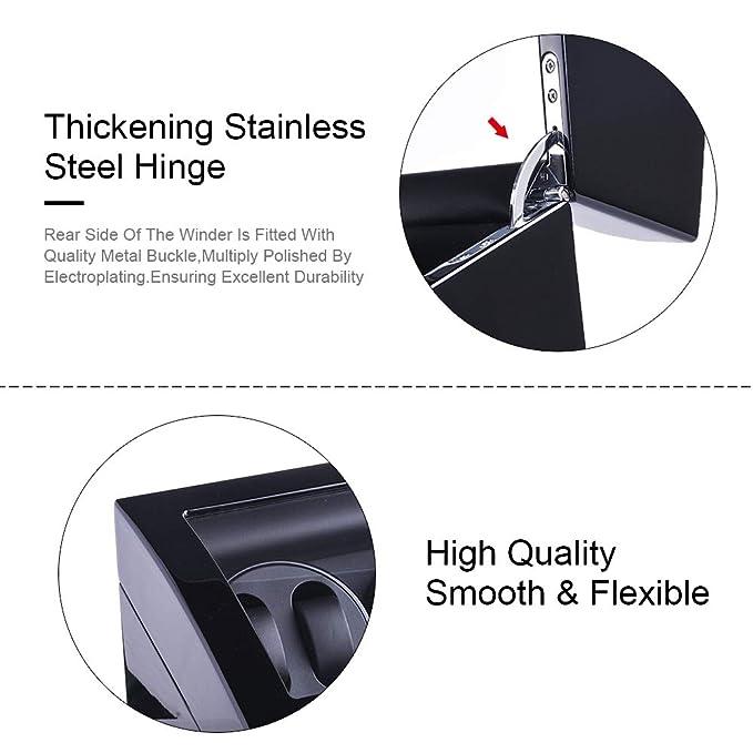 Amazon.com: udgtee XTELARY Luxury 3 Motor Automatic Watch Winder Display Box Case Storage 6+7 (R3671B): Home & Kitchen