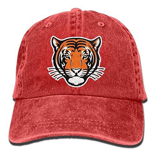 Princeton Tigers Helmet Adult Cowboy Hat Baseball Cap Adjustable Athletic Trendy Hat for Men and ()