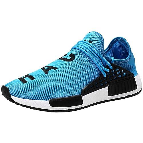 Wealsex Zapatos para Hombre Mujer Zapatillas de Malla Transpirable de Secado Rápido de Agua Elasticidad Cierre Tipo Zapatillas Deporte Hombre Zapatos para ...