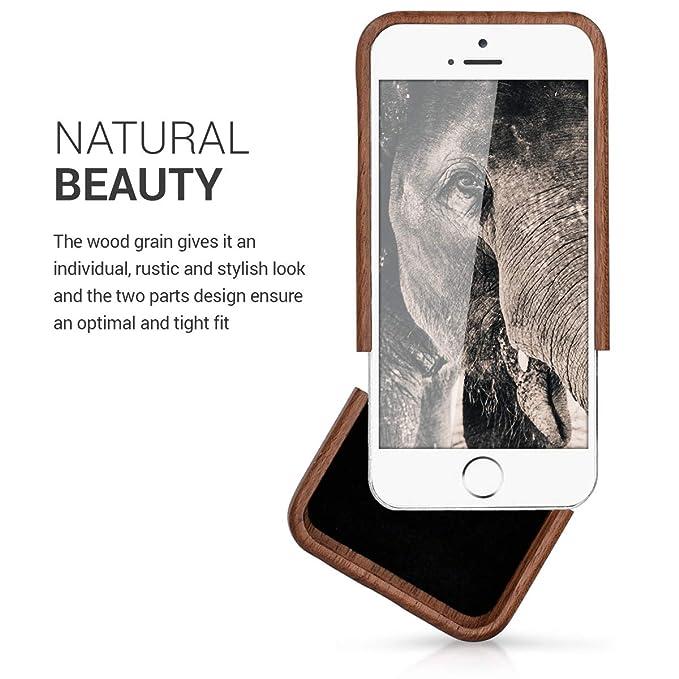 22e25145a51 kwmobile Funda para Apple iPhone SE / 5 / 5S: Amazon.es: Electrónica