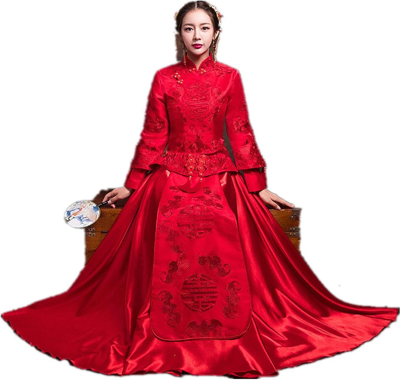 Show Wo Dress chinesisches Hochzeitskleid Hochzeit Cheongsam