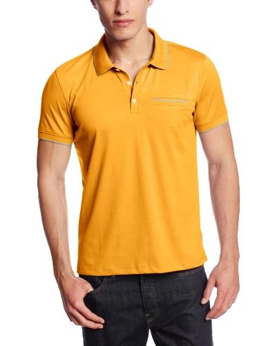 Calvin Klein Men's Short-Sleeve Polo Shirt With Contrast Piping