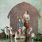 Willow Tree The Holy Family, Sculpted Hand-Painted