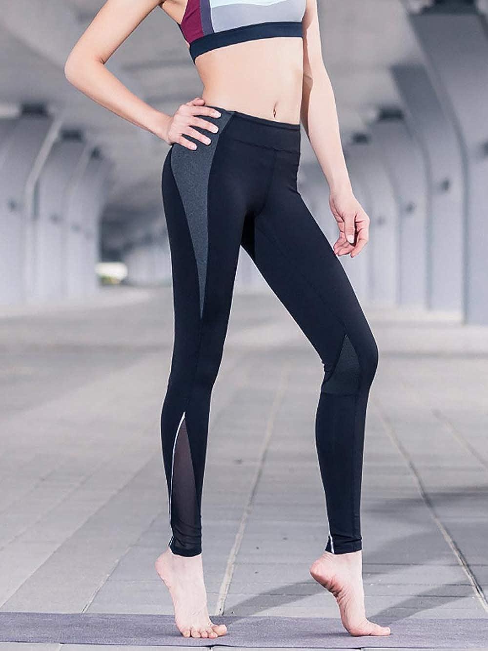 73c0401070 Zenwow Women s Sports Leggings High Waist Yoga Pants Gym Workout Running  Tights Back Zipper Pocket  Amazon.co.uk  Clothing