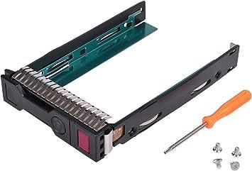 Ouway - Bandeja de disco duro SATA de 3,5 pulgadas LFF SAS para HP ...
