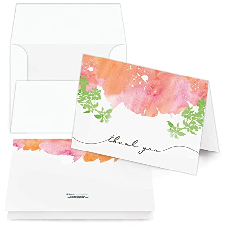 Amazon.com: Tarjetas de agradecimiento – Juego de 25 ...