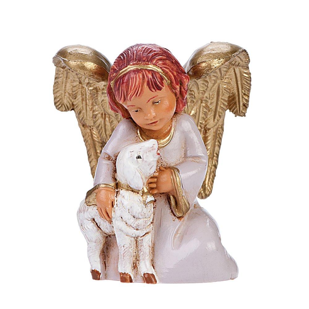 Angel Holding Lamb 54044 Fontanini Adina