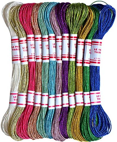 Embroidery Metallic Muti Colors Needlework Bracelets product image