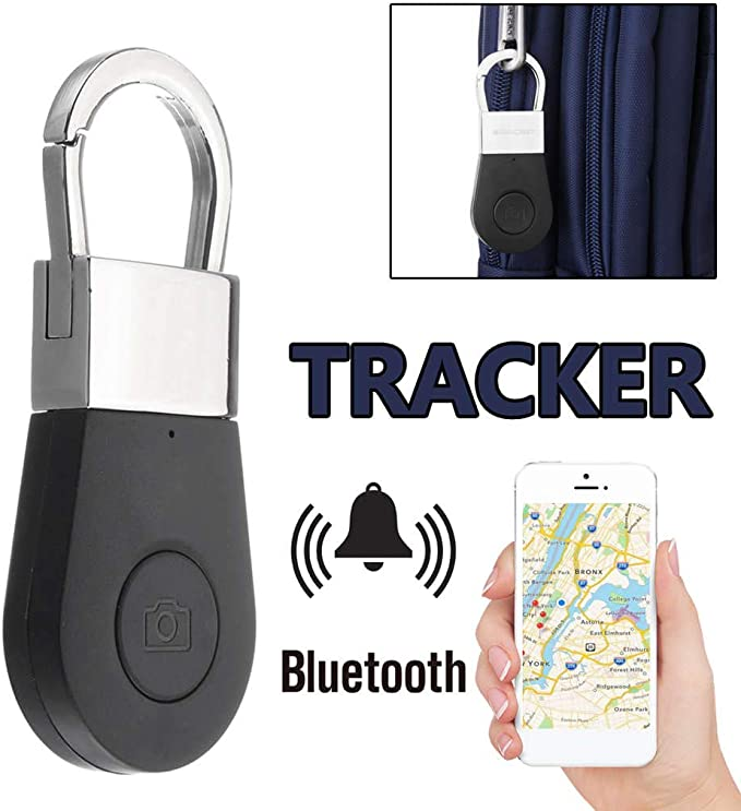 Senmubery Llavero Alarma GPS Tracker Inteligente Clave de Alarma Anti-Perdida Buscador de Llaves Buscador de Dispositivo para Coche Ni?o Mascota Anciano Rastreador