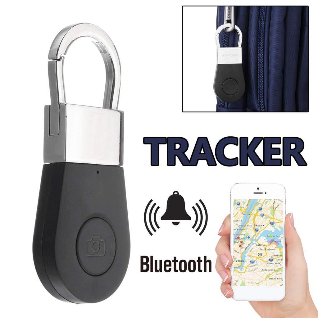 Cikuso Bluetooth Llavero Alarma GPS Tracker Inteligente Clave de Alarma Anti-Perdida Buscador de Llaves Buscador de Dispositivo para Coche Ni?o ...