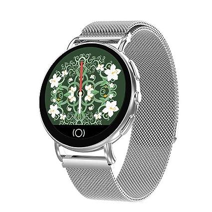 11b817489f0e Orider Nuevo Reloj Inteligente para Hombres y Mujeres Monitor de frecuencia  cardíaca presión Arterial Monitor de