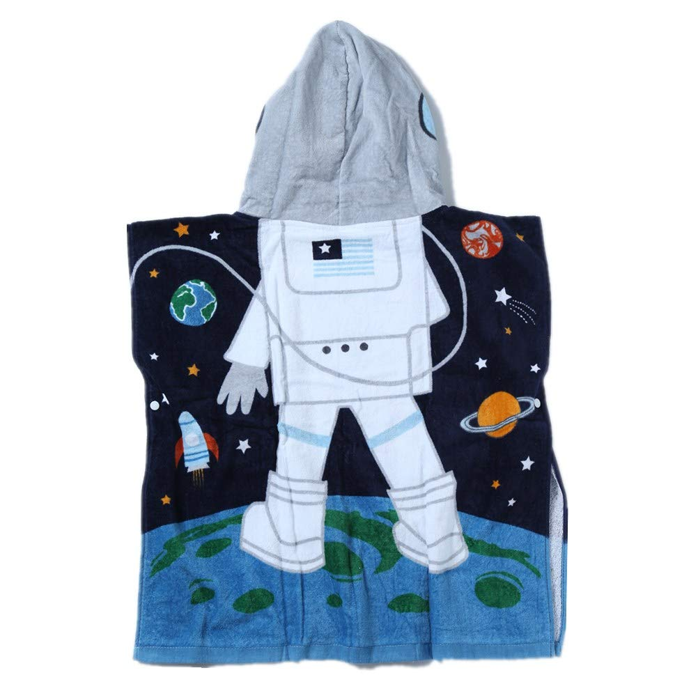 Kids Girls /& Boys Towel for Bath Beach Swimming Pool Premium Cotton Super Absorbent /& Soft for Children Toddler Under 7 Extra Large 50x30 Dinosaurs /& Fish Hooded Towel 2 Packs