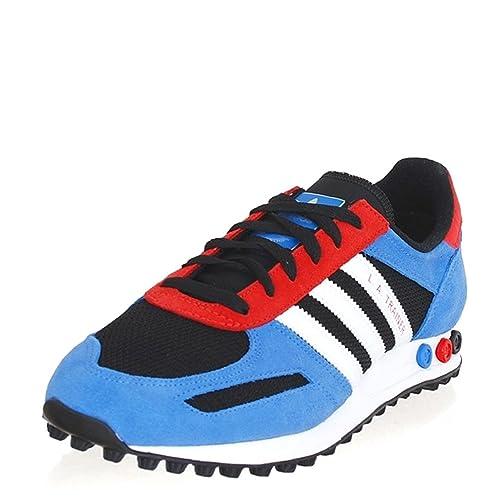 separation shoes 5413d 2d8de Adidas Scarpe Uomo Sneakers Colore nero blu rosso Modello La Trainer G40169  Taglia 43