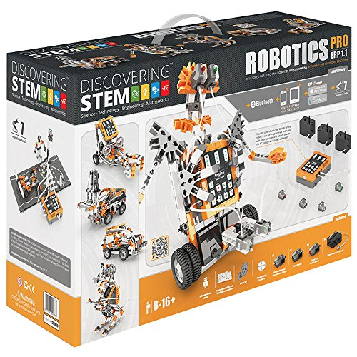 Engino Discovering STEM ERP Pro Bluetooth Robotics Pro Construction Kit by Engino