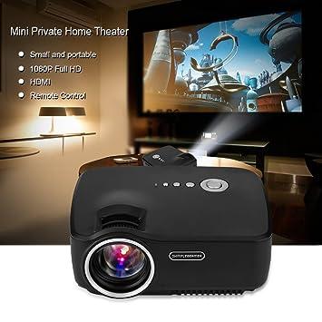 Zunate 1080P HD Proyector Mini Portátil,Proyector Cine en ...