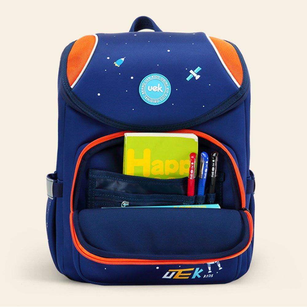 Schultaschen atmungsaktive und leichte tragbare Schultertasche Uns (Farbe : Blau)