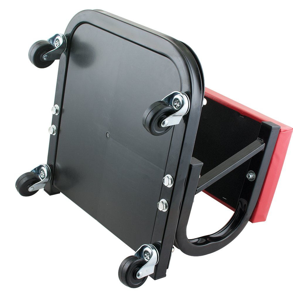 Enshey Car Repair Roller Seat Padded Mechanics Roller Creeper Auto Workshop Bench Garage Equipment Vehicle Tools Maintenance by Enshey (Image #7)