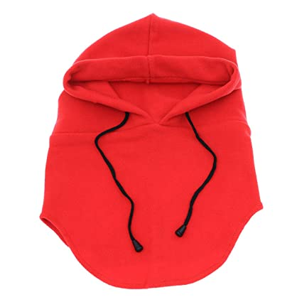Amazon.com   VORCOOL Hats for Men Winter Hat Face Mask Winter Mask Mens Hat  Balaclava Face Mask Neck Warmer Outdoor Winter Sports Snowboarding Cap  (Red) ... 35a72df96f1