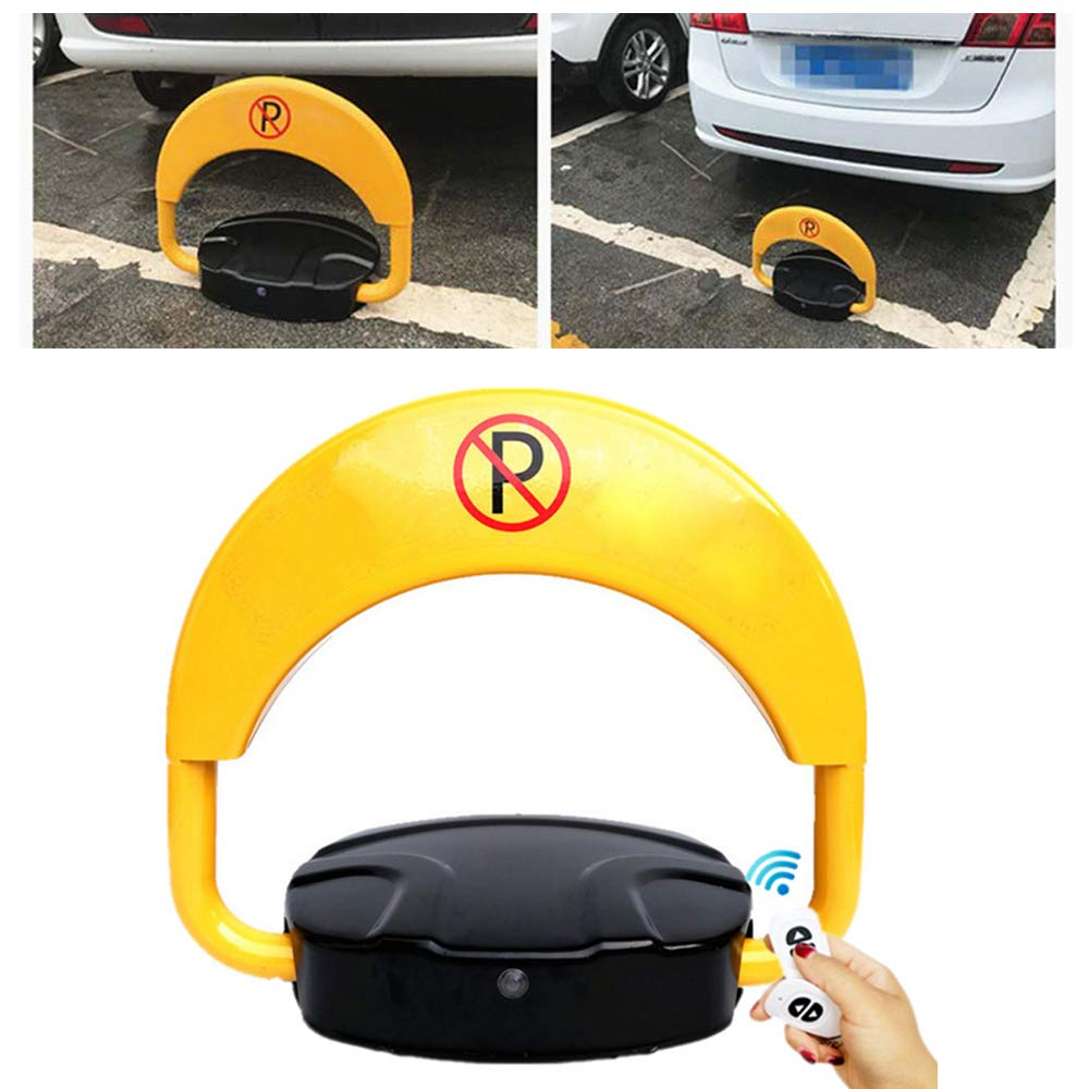 WUPYI Parking Lock,Remote Controlled Parking Space Saver Lock Operation Protecting Private Parking Space Car Park Driveway Auto Barrier,IP67 Waterproof by WUPYI (Image #1)