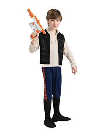star wars costume kids han solo outfit style 1 medium age 5
