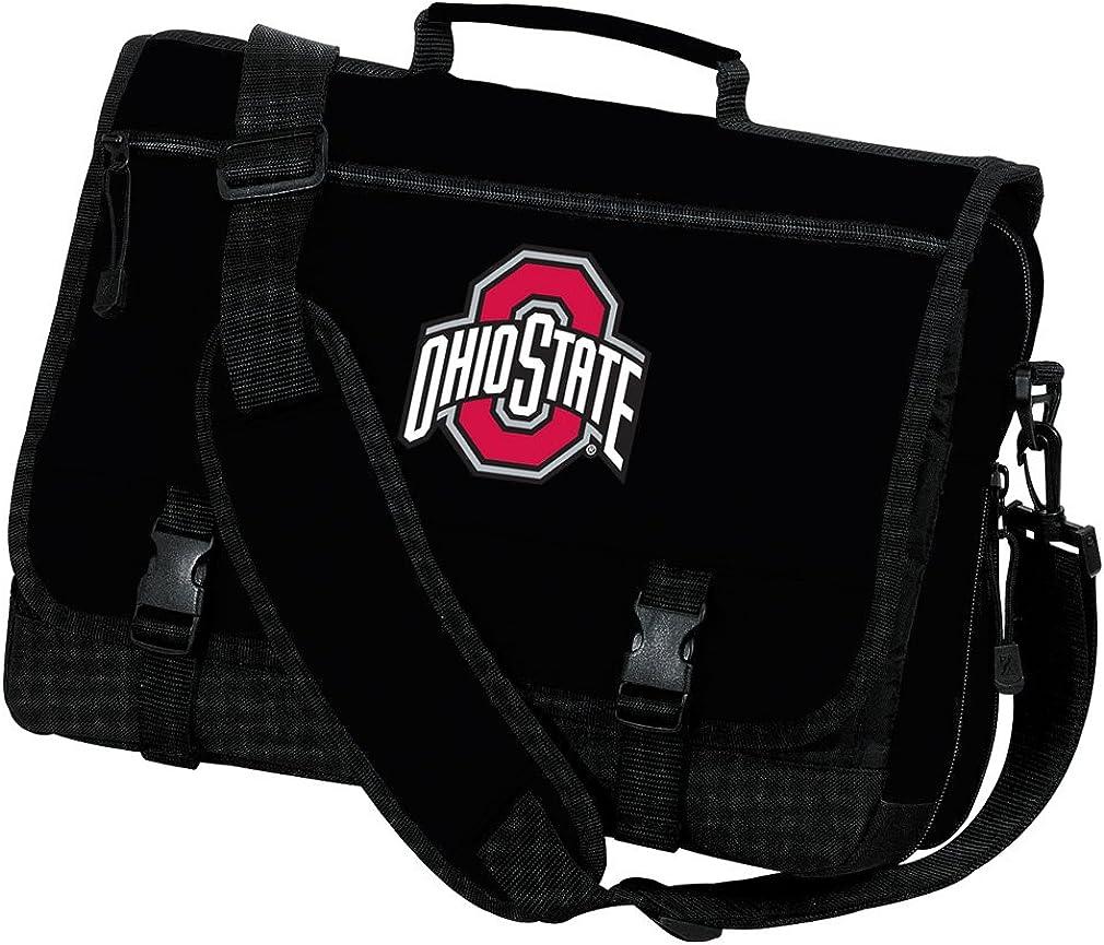 Broad Bay Ohio State University Laptop Bag OSU Buckeyes Computer Bag or Messenger Bag
