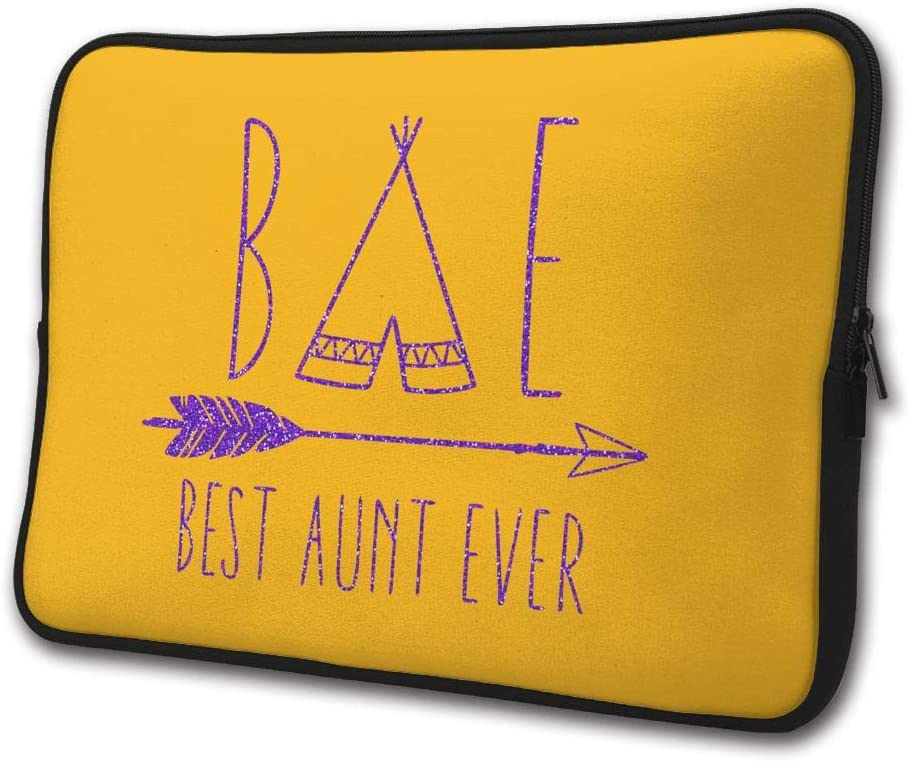 Best Aunt Ever Auntie Business Briefcase Laptop Sleeve Bag/Handbag 13/15 Inch