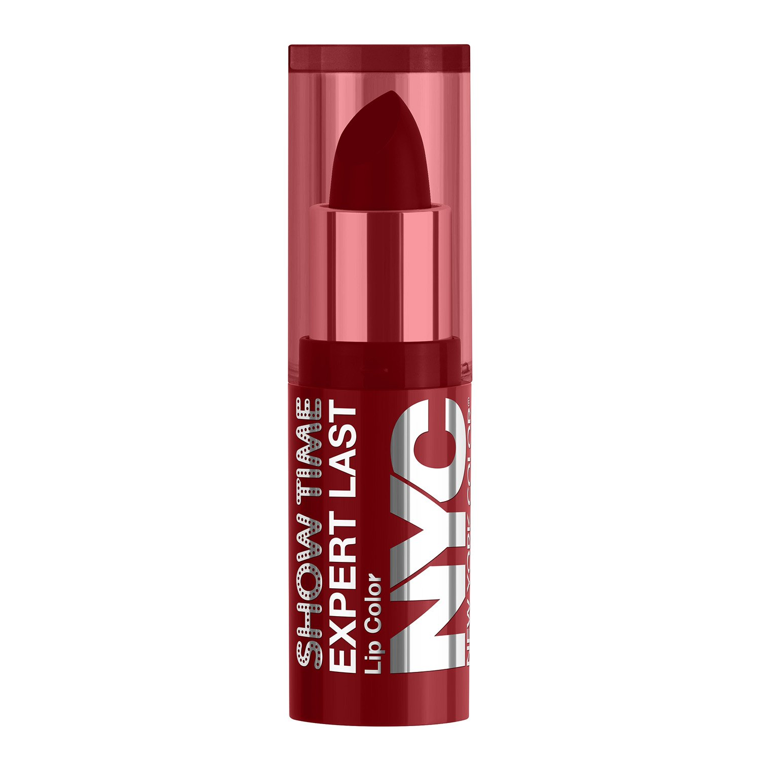 N.Y.C. New York Color Expert Last Lip Stain Matte Lip Color, Red Suede, .22 Fluid Ounce Coty COSNYC031