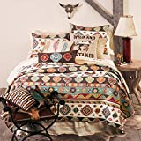 Wild and Untamed Quilt, Full/Queen