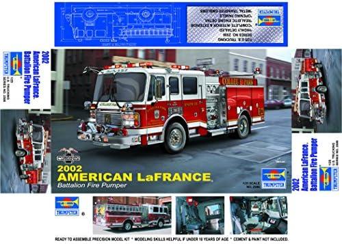 Trumpeter 02506 American Lafrance Eagle Fire Pumper 2002