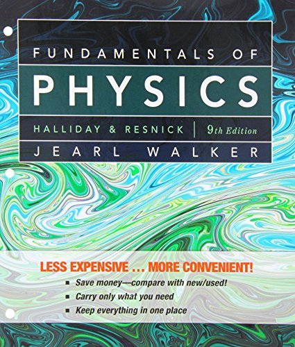 Fundamentals of Physics, 9th Edition by David Halliday (2010-03-30)