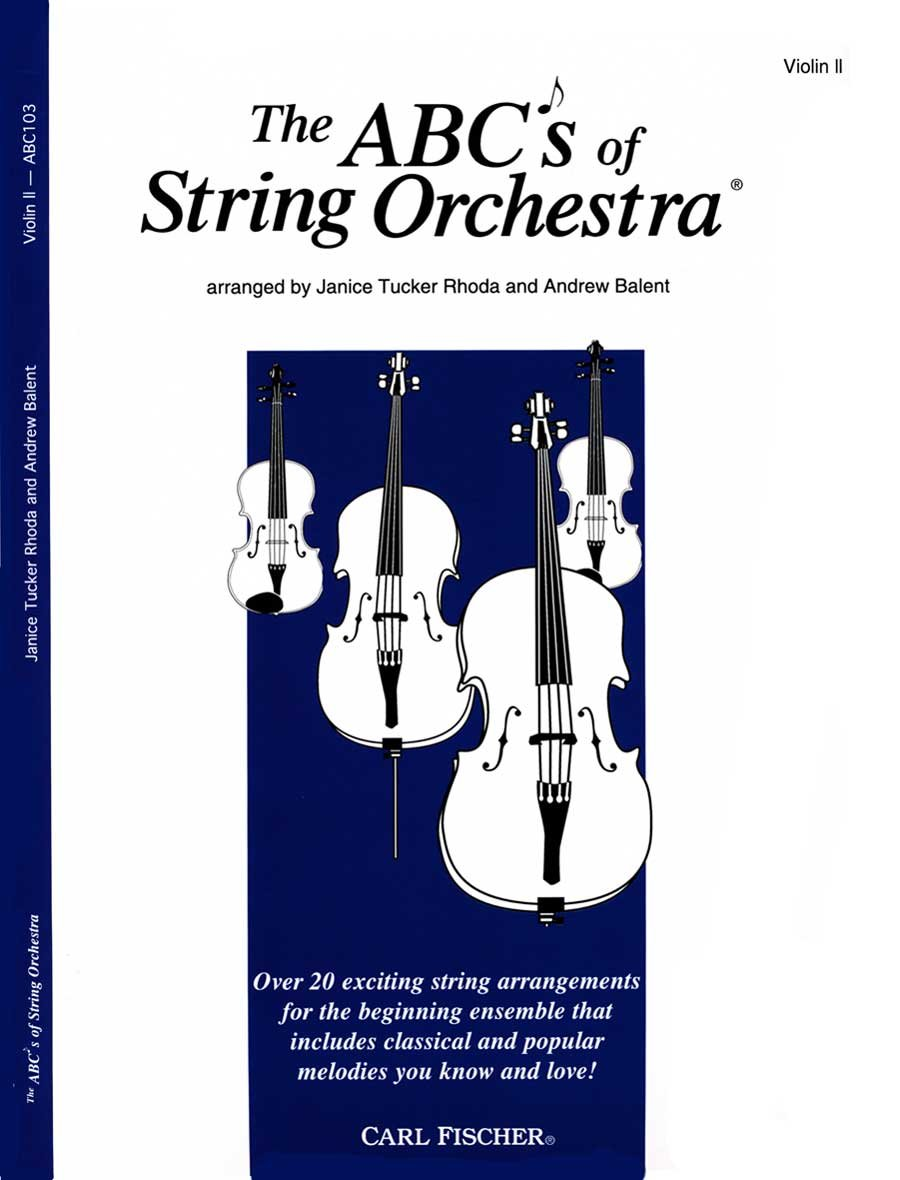 The ABCs of String Orchestra - Violin II part