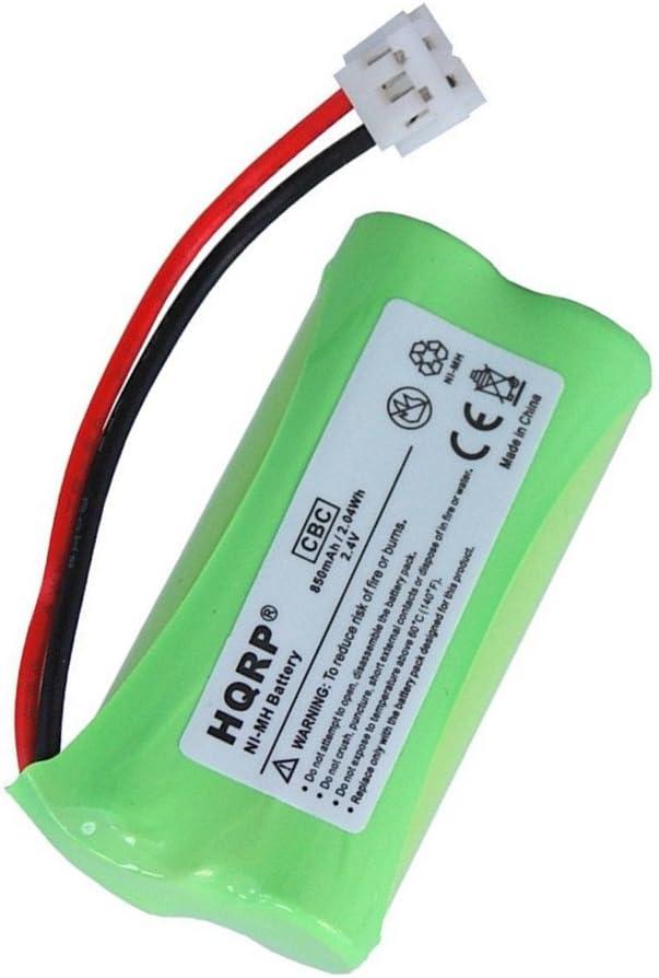 HQRP Batería para General Electric GE 27911, 27909, 27903, 27956, 25250, 27955, RCA 25250RE1, 25250RE1-A T-2734 Teléfono inalámbrico