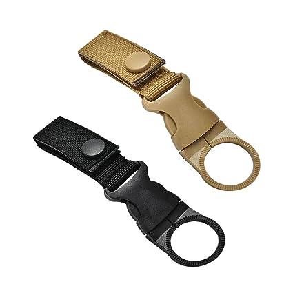 2 pezzi in nylon cinghia cinturino fibbia gancio moschettone clip da cintura