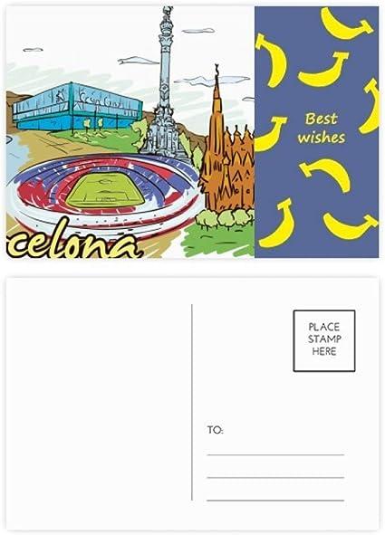 Juego de 20 tarjetas postales con diseño del Monumento de ...