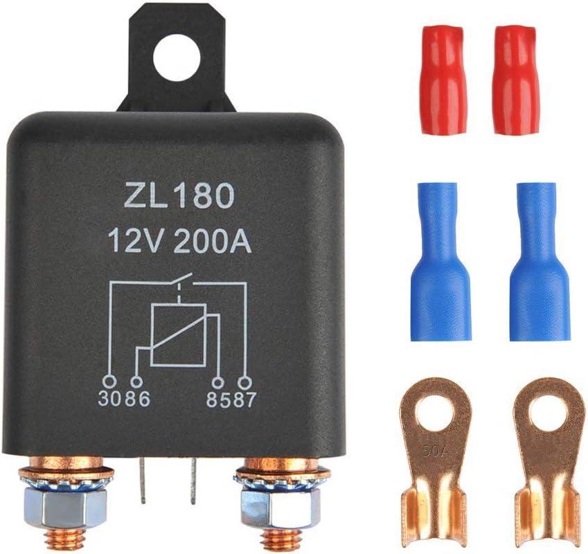 YGL ZL180 24V 200A Relés Coche del Carro del Barco Motor Automoción de Arranque Para Trabajo Pesado de Carga Dividir con 2 pin Huella + 4 Terminal