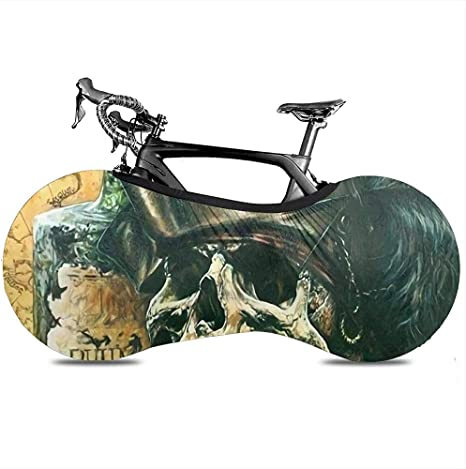 Bike Cover,Skull Pirate Hat Captain Beer Fundas De Bicicleta ...
