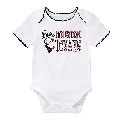 beb9ca44 Amazon.com: NFL Team Apparel Houston Texans Girl's Infant Onesie ...