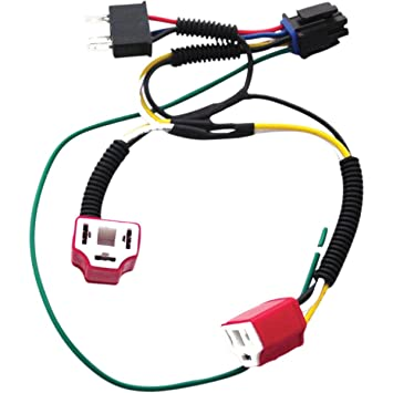 61vM9zykTsL._SY355_ amazon com signal dynamics dual h4 wiring harness kit for plug GM Headlight Wiring Harness at couponss.co