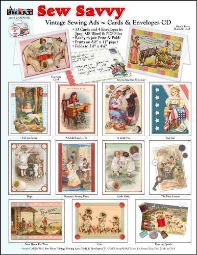 Sew Card (ScrapSMART - Sew Savvy Cards and Envelopes Collection [Download])