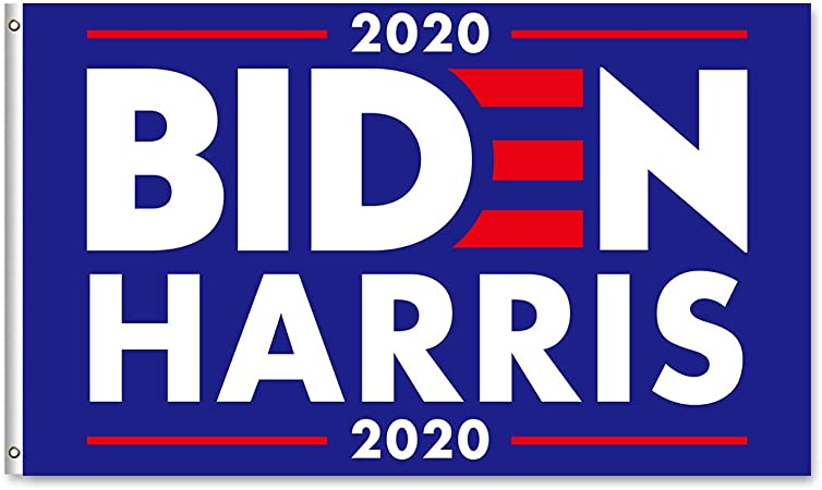 Amazon Com Joe Biden Kamala Harris 2020 Build Back Better Flag For President Election 3x5 Feet Flag With Grommets For Democrats And Biden Fans Gift Outdoor And Indoor Decor Banner Garden