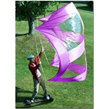 Large Super Skate Sail And Paddleboard Sail By Sailskating LLC (Purple) - Award Winning Compact, Portable, Easy to Set up Design!