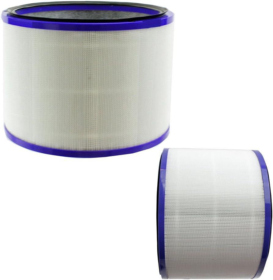 REYEE 2 filtros para Dyson Pure Cool Link Desk Hot + aire frío ...