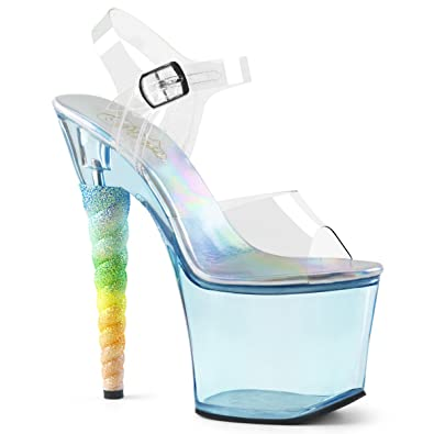 Pleaser UNICORN Ankle 708T, Exotic Dancing, 7