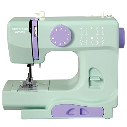 Amazon Janome Mystical Mint Basic EasytoUse 40Stitch Enchanting Sewing Machine Free Arm