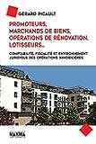 Promoteurs, Marchands de biens, Opérations de rénovation, Lotisseurs...
