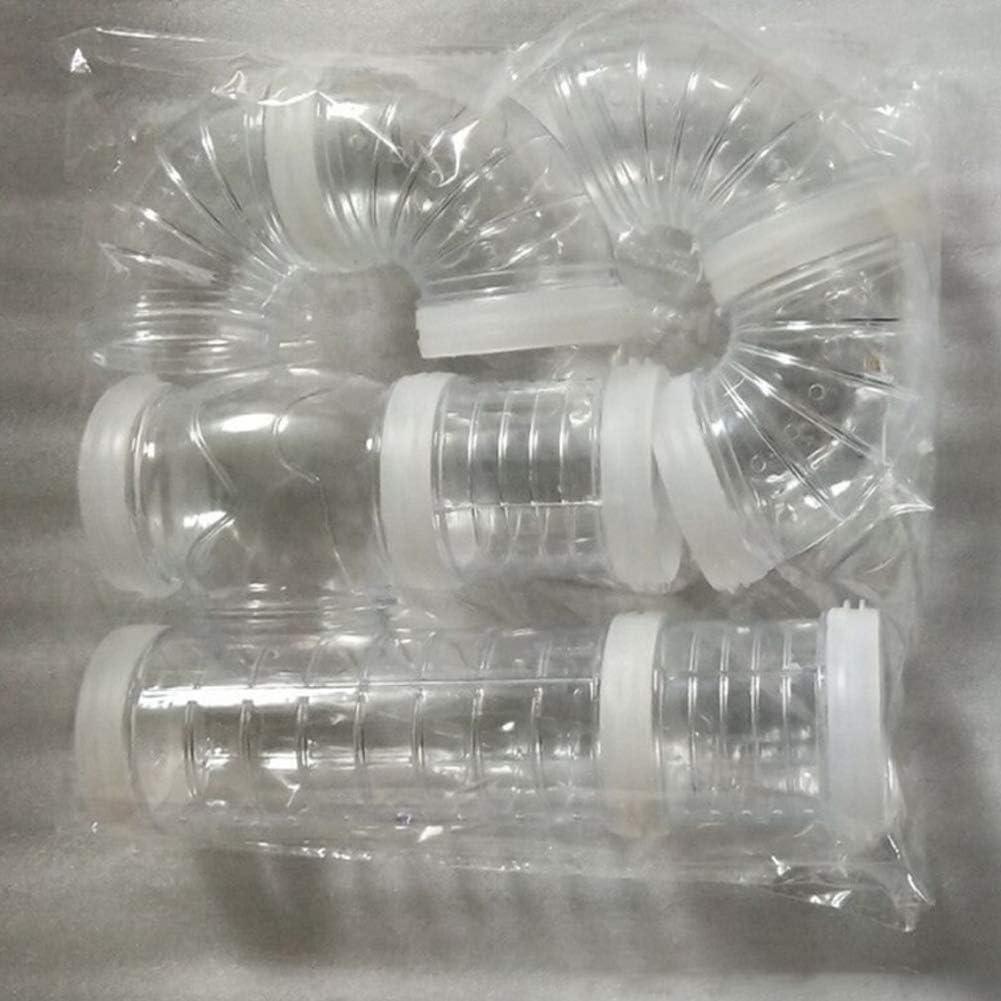FairOnly conexión externa túnel pista tubo juguete para hámster deportes blanco calibre 5.5 vida conveniente