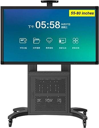 ZYH-Shelf - Carrito de TV con Ruedas para LCD LED Plasma Soporte ...