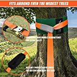 Slackline Kit with Tree Protectors - 50FT Upgrade